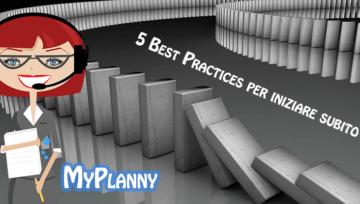 Best practices per iniziare a usare Myplanny
