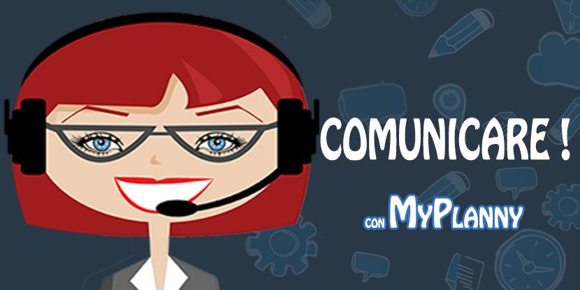 comunicazione diretta con MyPlanny