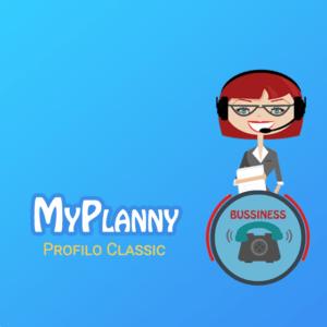 MyPlanny profilo classic segretaria dedicat
